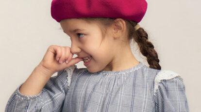 秋のおしゃれはベレー帽から。オリジナルのワンポイント刺繍をその場で行うイベントを「こども ビームス」で開催。